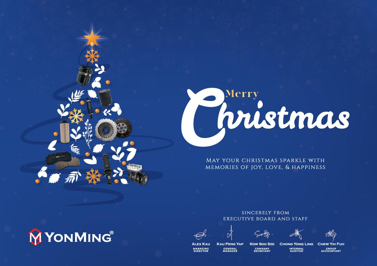 Merry Christmas 2018 | YonMing ® Group